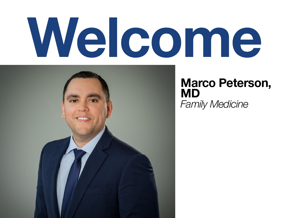 Marco Peterson, MD